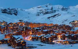 station de ski Val thorens louer un appartement