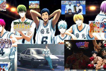 liste manga sport